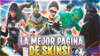 La meilleure page pour télécharger Fortnite Skins en PNG!! Pack Skins// @Josemihdd