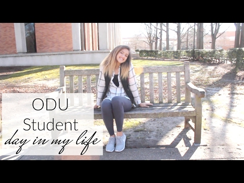 ODU Student: Day in my Life collab with Marissa Otter