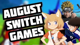 My Top 5 Nintendo Switch Games For August 2020!