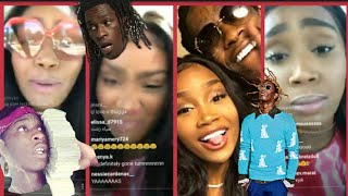 YOUNG THUG fiance goes off for him cheating