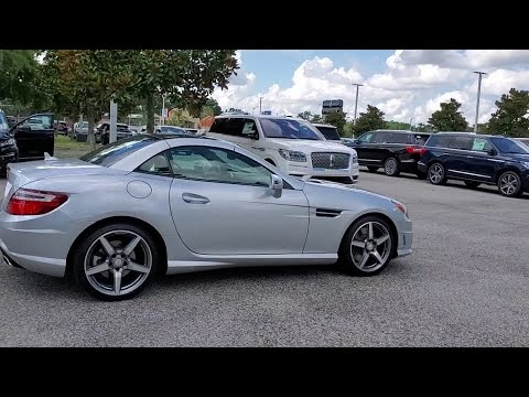 2015 Mercedes-Benz SLK-Class Winter Park, Longwood, Kissimmee, Windermere, Orlando, FL 190687A
