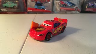 McQueen Monday: Lightning McQueen with cone diecast review