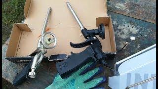 как выбрать хороший пистолет для монтажной пены. Fome Flex Black Edition