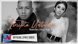 Rowman Ungu Feat. Risma Aw Aw - Tercipta Untukku | Versi Jawa (Official Lyric Video)