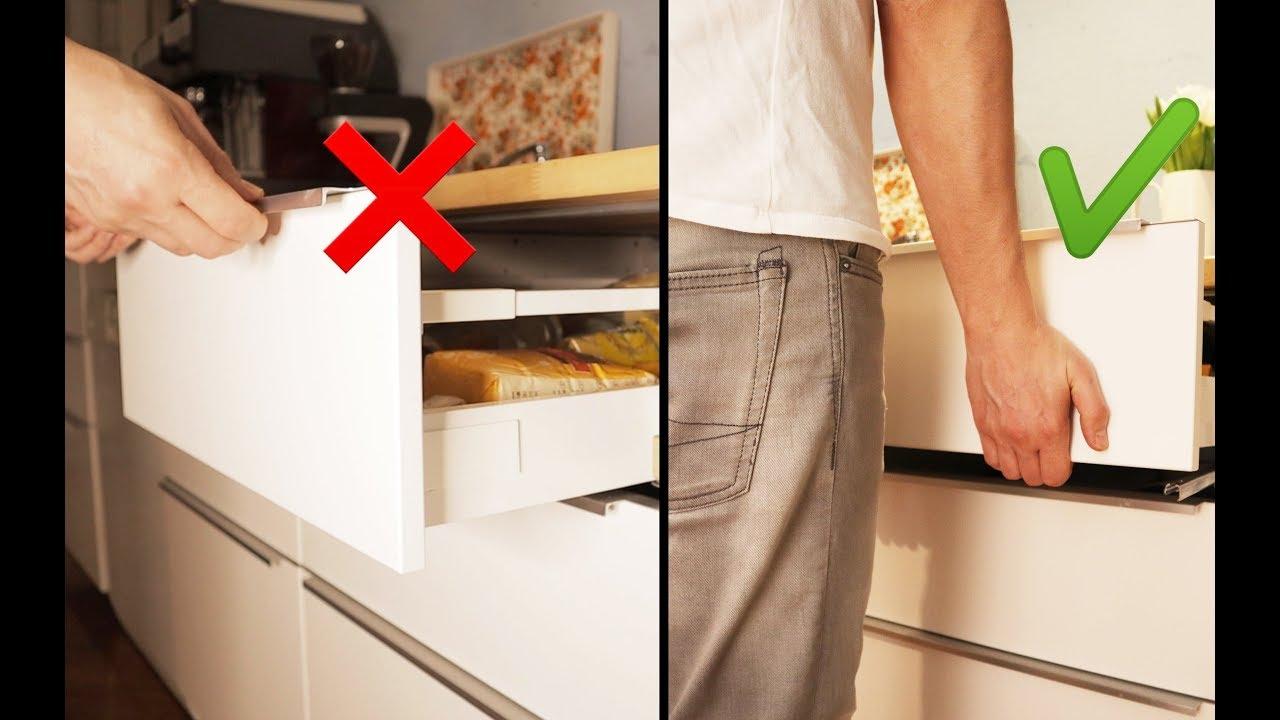Ikea Küche Schublade ausbauen und einsetzen - #IKEA MAXIMERA