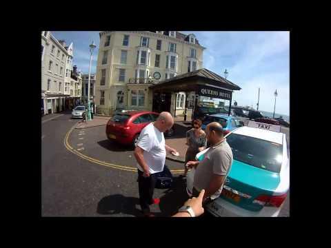 MJ12VHZ Brighton & Hove Radio Cabs Ltd / Dangerous Driver