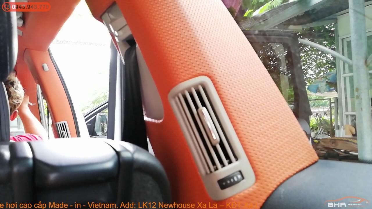 Bọc trần da cho xe Audi Q7 – Lên đời nội thất cao cấp cho xe của bạn