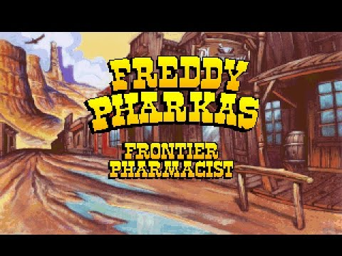 "Freddy Pharkas: Frontier Pharmacist (PC) CD""Talkie"" Demo, 1993, Sierra on-line"