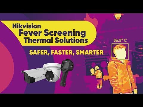 Hikvision MENA -  Fever Screening Thermal Solution Live
