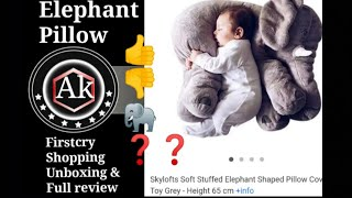 Firstcry Shopping Haul Skylofts Soft Stuffed Elephant Pillow Full Review