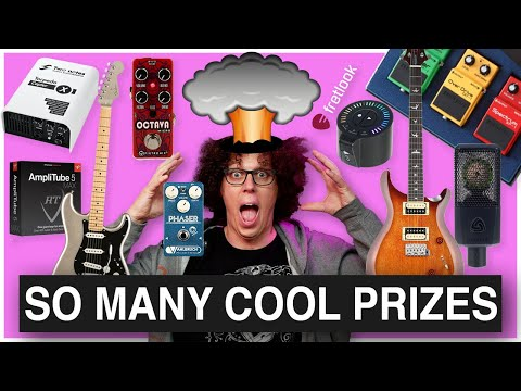 Win a Fender Strat a PRS and MORE! 40K Giveaway Update   OVER 10,000 EUROS OF PRIZES!!!