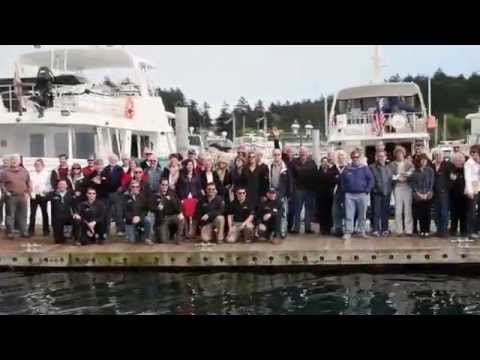 2013 Selene Yachts Rendezvous at Roche Harbor Wa with Hampton Yacht Group