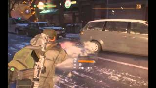Tom Clancy's The Division-shooting tires