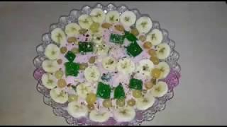 Lab-e-shireen klaar om zelfgemaakte | zaiqedar Khana Lab-e-shireen Gemakkelijk te Maken Tutorial
