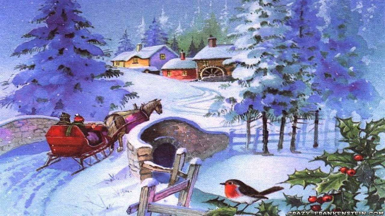christmas peace relax with instrumental christmas music and winter scenes youtube