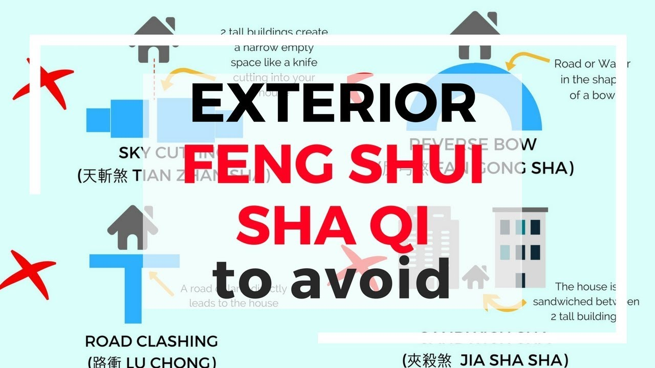 Feng Sui Common Exterior Feng Shui Sha Qi Or Negative Energy To Avoid