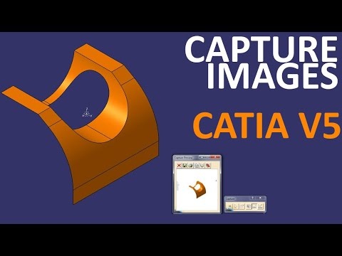 How to capture Images in CATIA V5