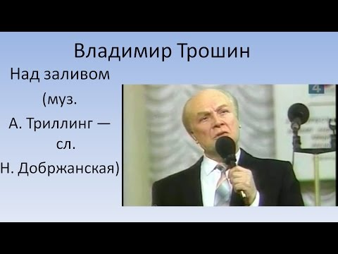 Клип Владимир Трошин - Над заливом