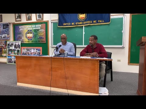 BIU President Chris Furbert On Dock Dispute, Nov 26 2020