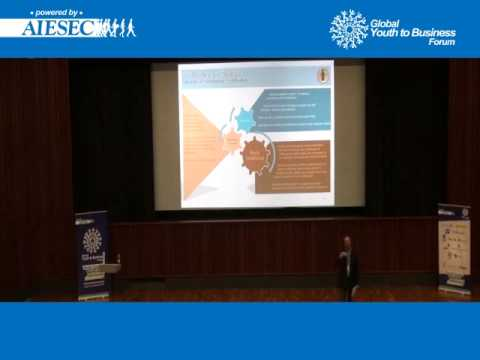 Carsten Sudhoff: New Models of Leadership at Global Youth to Business, Moscow 2012