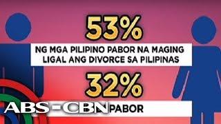 TV Patrol: Pagpabor ng dumaraming Pinoy sa diborsiyo, ikinababahala ng ilang grupo