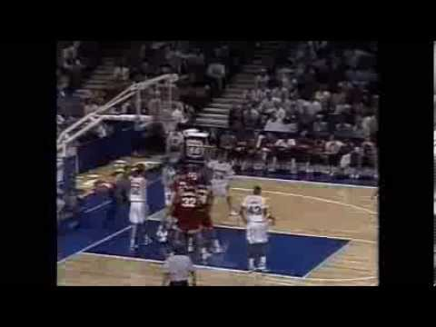 Nebraska v. Oklahoma, 1994 Big 8 Basketball Tournament