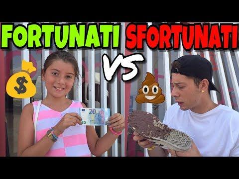 FORTUNATI VS SFORTUNATI - DIFFERENZE