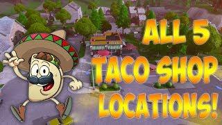 taco shop fortnite
