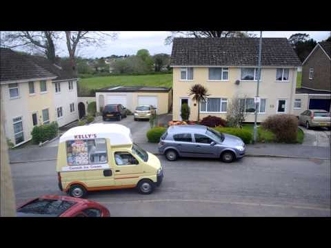 Cornish Mini Ice Cream Van!