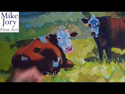 cow painting tutorial part 13