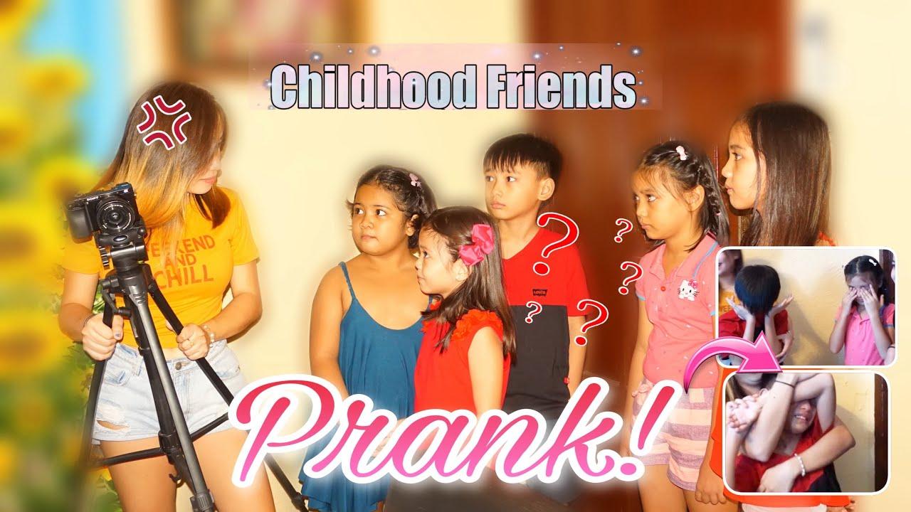 NAGALIT AKO AT PINALAYAS KO SILA PRANK | CHILDHOOD BESTFRIEND CAST