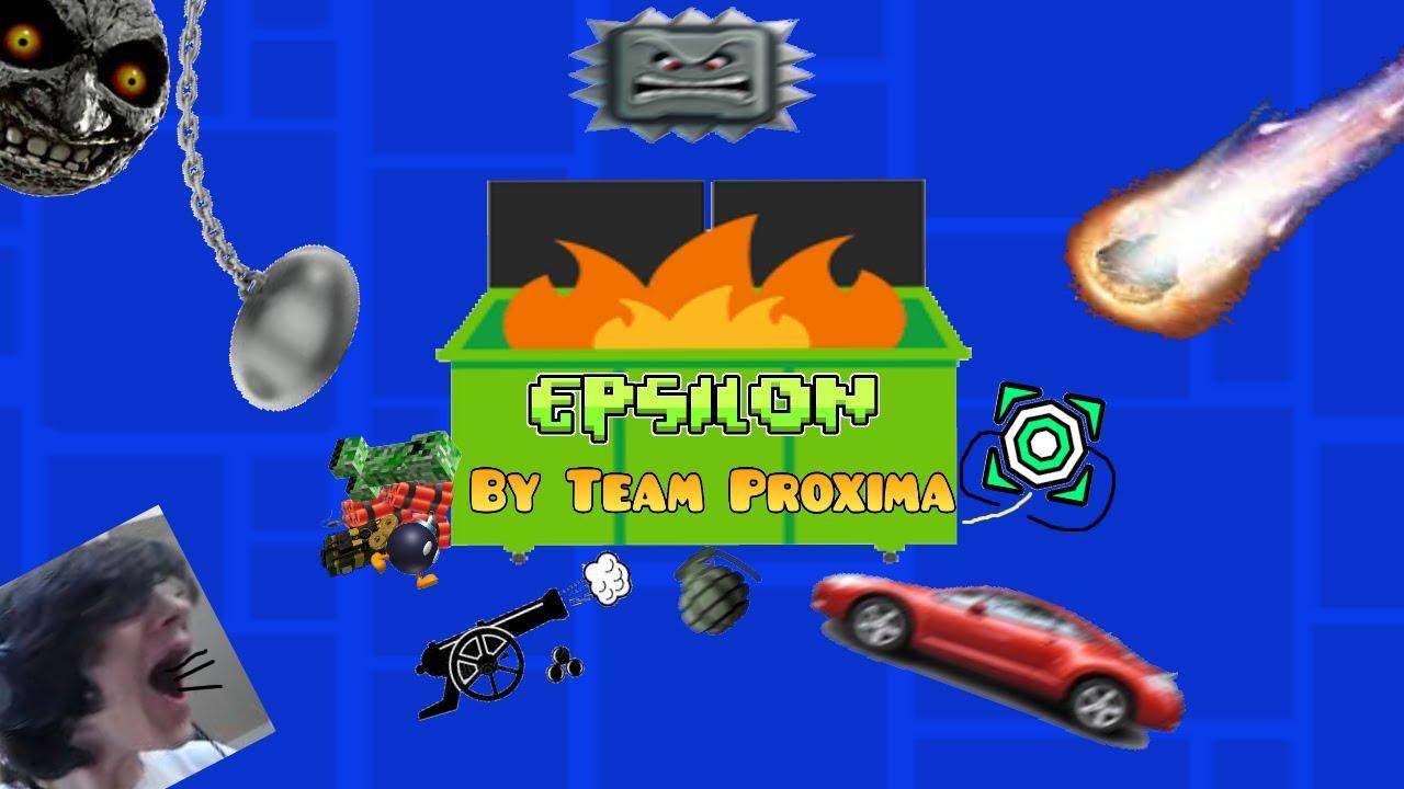 Download EPSILON (Extreme Demon) by TeamProxima | Geometry Dash