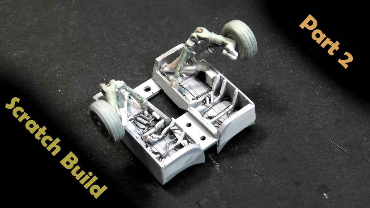 F/A-18E 1/72 - Landing Gear and Wheel Well - Part 2
