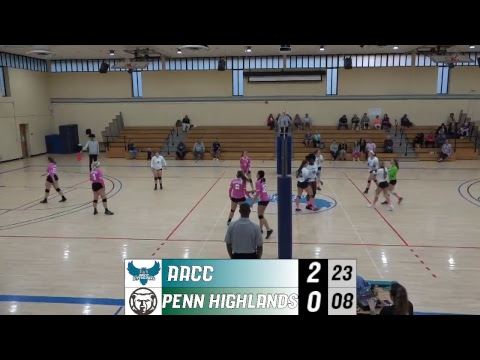 WVLB: 10/17/2018 AACC Riverhawks vs. Pennsylvania Highlands Community College Black Bears
