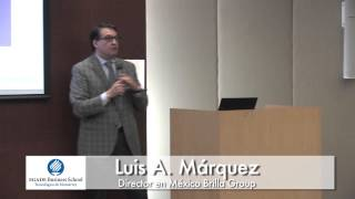 McCombs Mexican Alumni Network Second Annual Faculty Speaker Conference