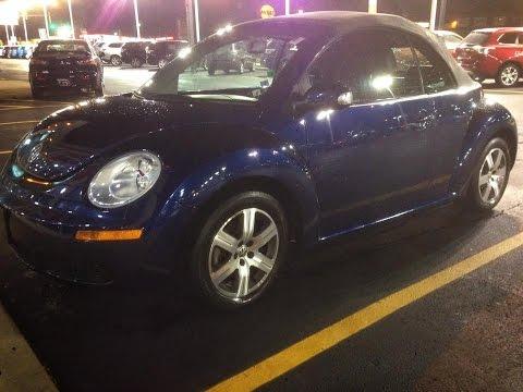 FOR SALE - 2006 Volkswagen New Beetle, Convertible. $8,749. Located in: Joliet, IL 60435
