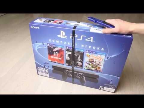 PS4 Комплект игрока   Распаковка, Первые впечатления