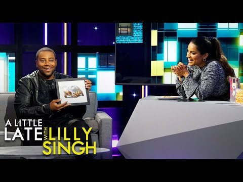 Kenan Thompson and Lilly Singh Play Turtle Pepperoni