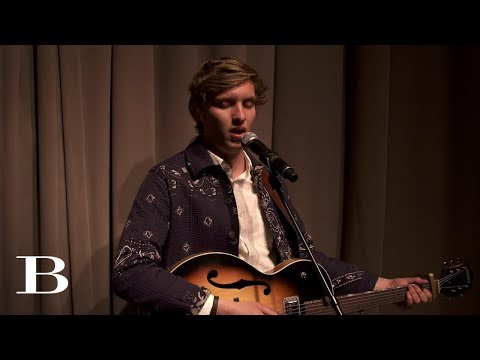 George Ezra performs 'Did You Hear the Rain?' - Burberry Celebrates 'London in Los Angeles'