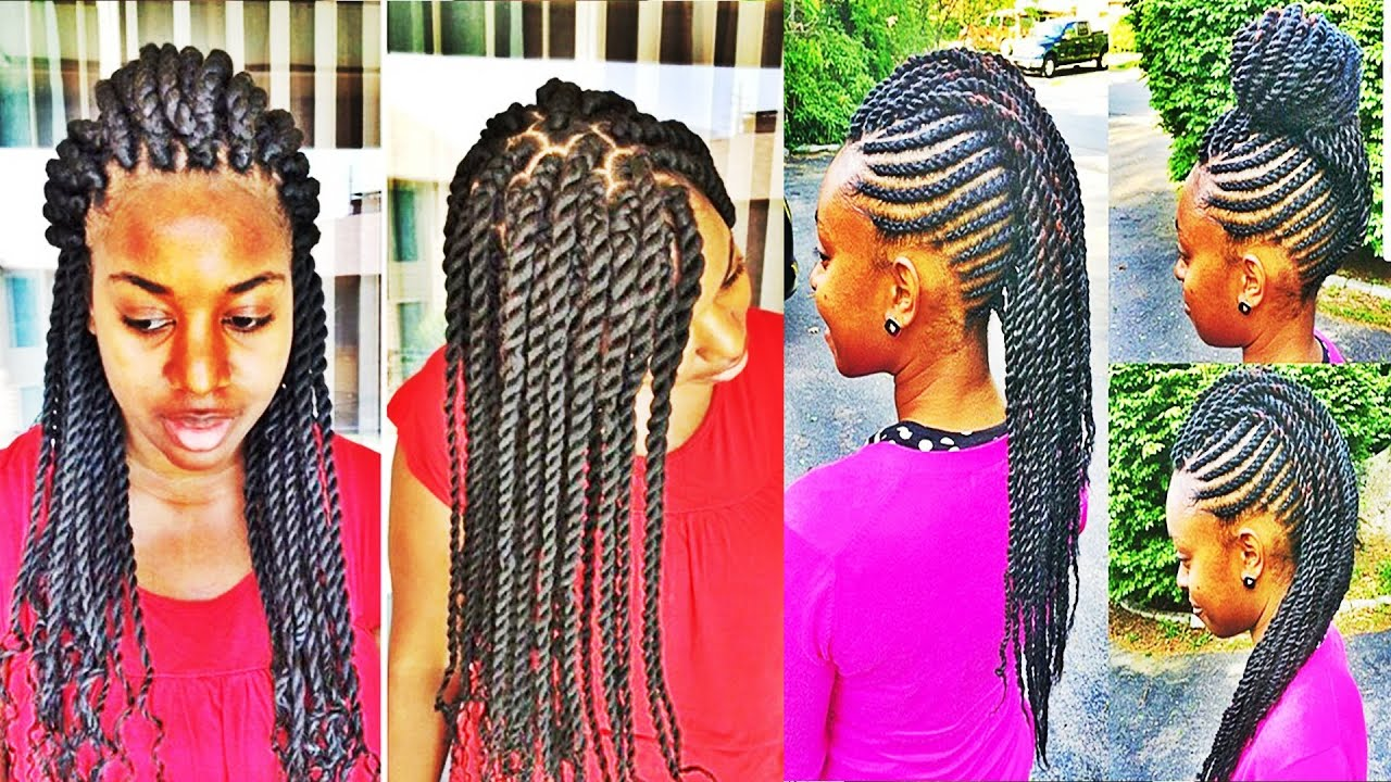 Versatile Braids And Twists Hairstyles For African