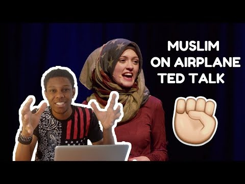 The Muslim on the airplane | Amal Kassir | TEDxMileHighWomen REACTION (MY COMMENTARY)