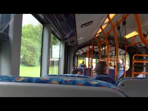 Stansted bendy bus ride (Mid stay)(Mercedes-Benz Citaro G)
