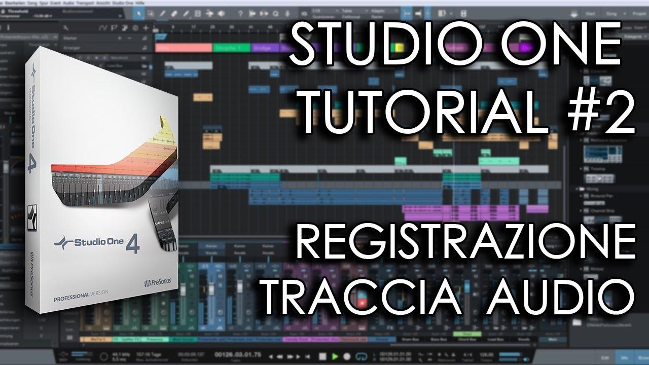 Presonus studio one prime 3. 3 tutorial italiano free daw youtube.