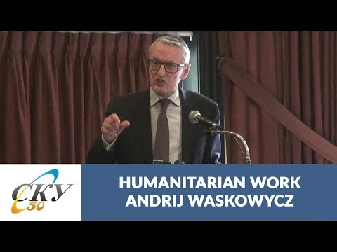 Andrij Waskowycz: Ways to expand scope of humanitarian and social service work