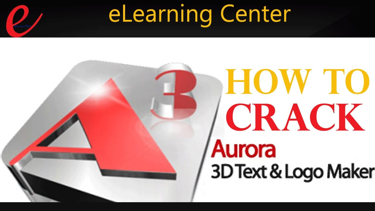 How to crack Aurora 3D Animation Maker || v14 09 11 + Crack and Serial