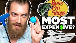 What's The Most Expensive Item At Bass Pro Shops? (Mini Golf Game)
