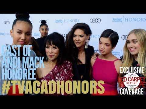 Cast of Andi Mack interviewed at the 11th Annual Television Academy Honors #TVAcadHonors