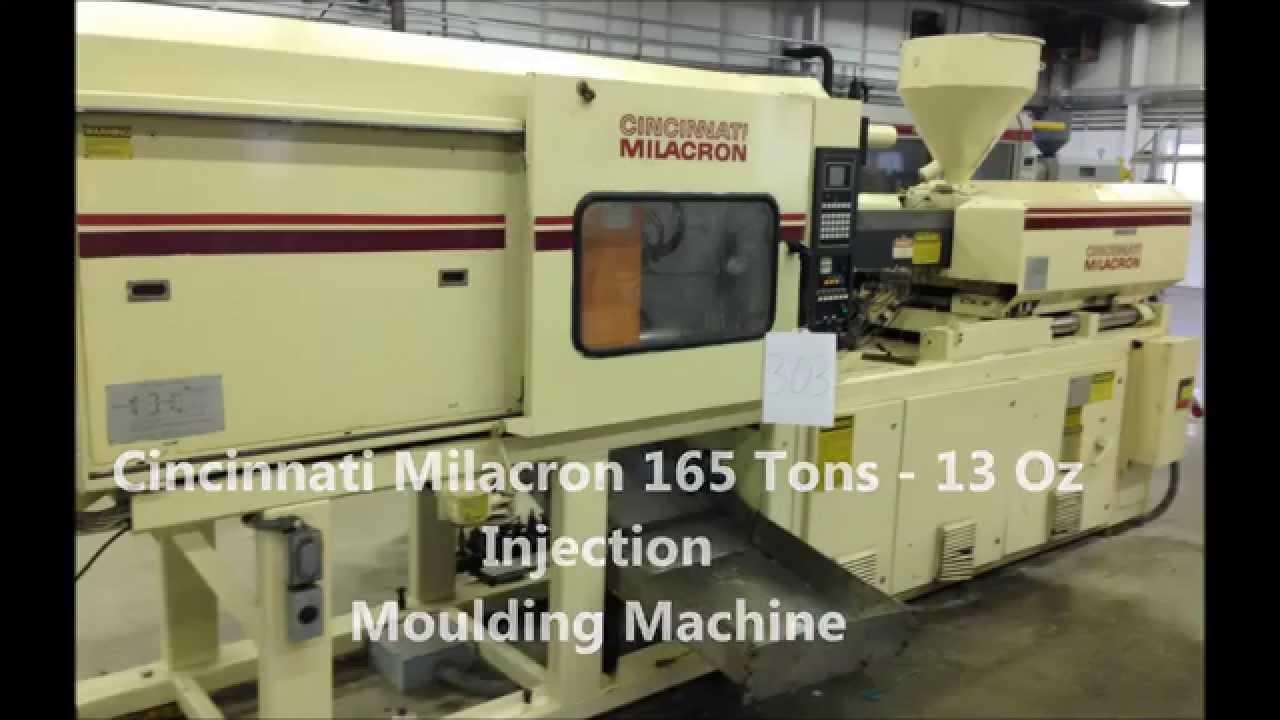 cincinnati milacron 165 tons 13oz injection moulding sound machines rh youtube com cincinnati milacron user manual cincinnati milacron sabre 500 manual