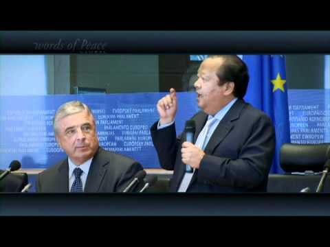 Words of Peace Episode 268 at European Parliament in Brussel