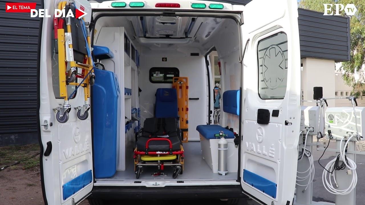 Tema del Día - El Hospital Iturraspe recibió una ambulancia y cinco respiradores